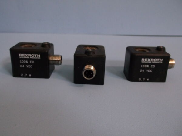 REXROTH SOLENOID W5147 LOT OF 3