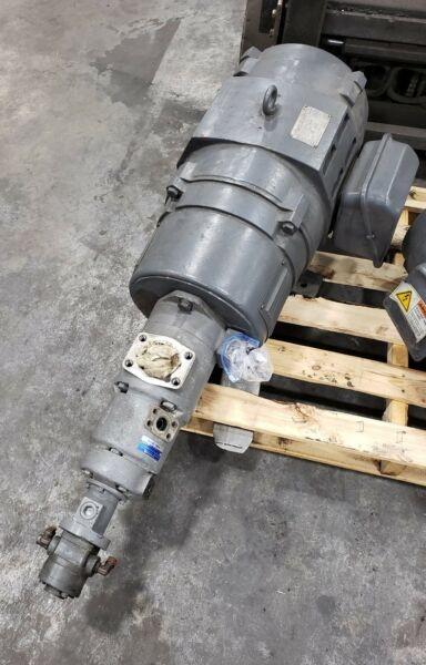 Higen Q60HB8NRD3 Motor / TOKIMEC  SQP321-38-21-11-86DCD-18-S121 Hyd Pump #1343CG