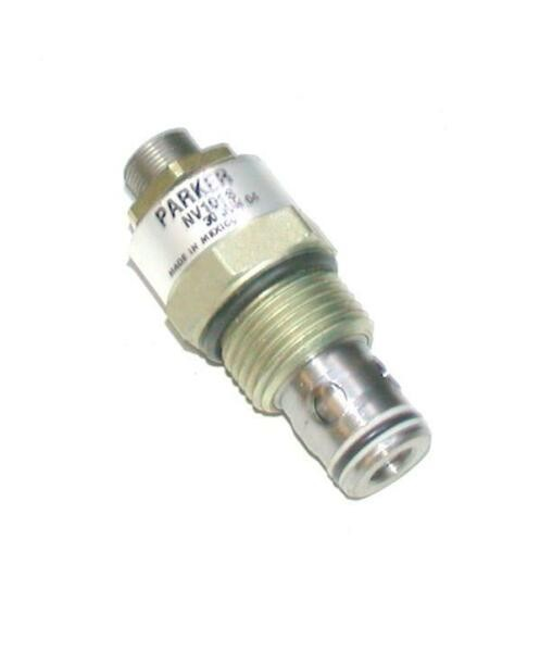 NEW PARKER   NV101S   DIRECT ACTING THREADED PRESSURE RELIEF VALVE