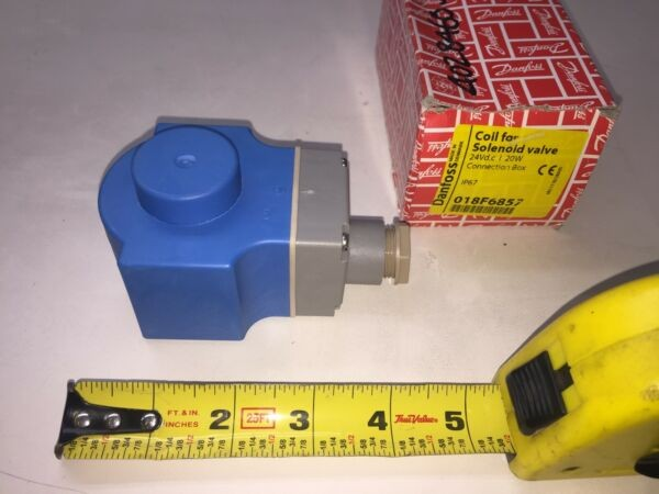 018F6857 Danfoss BG024DS Solenoid Coil Valve 24Vd.c 20W F6457 Type1 IP67