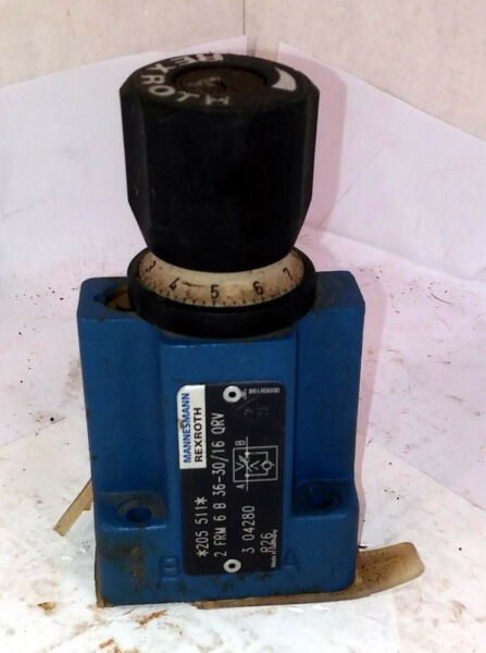 1 NEW REXROTH 2FRM6B36-30/16 QRV 2 WAY POWER CONTROL VALVE NNB ***MAKE OFFER***