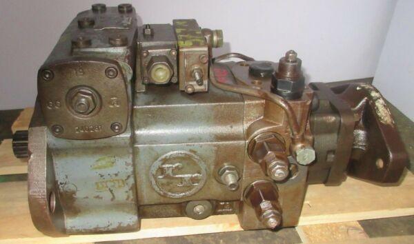 Rexroth Hydromatik A4V90HD-10R00102A Hydraulic Pump/Motor Working Before Removal