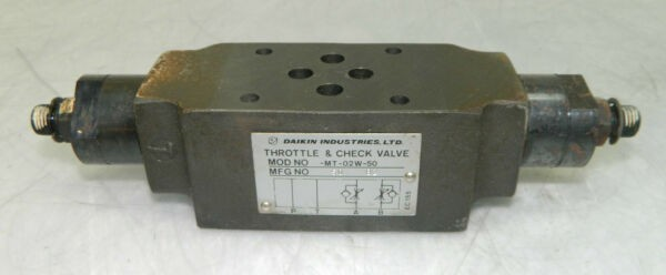Daikin throttle & check valve, mt-02w-50, used, warranty