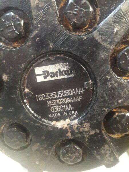 Parker ME210208AAAF Hydraulic Drive / Torq / Wheel Motor TG0335VS080AAAF