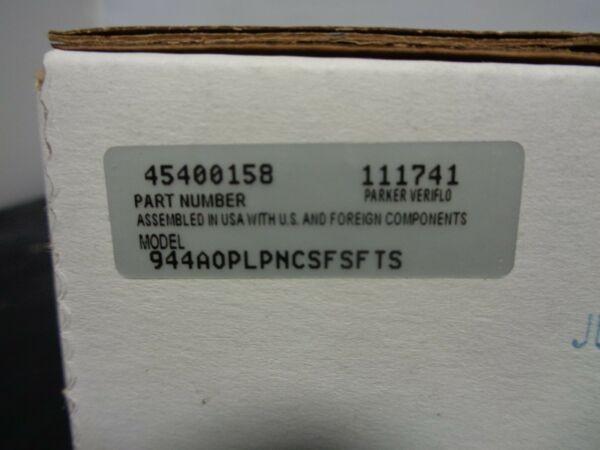 Parker Veriflo 944AOPLPNCSFSTS Valve 45400158
