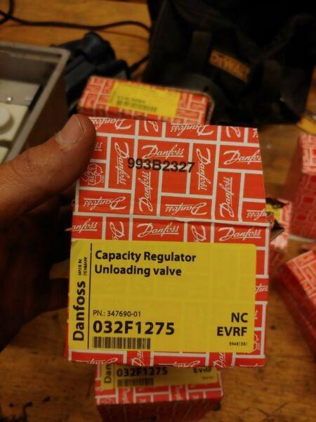 New Listing1 NEW DANFOSS 032F1275 CAPACITY REGULATOR UNLOADING VALVE