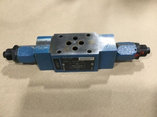 Mannesmann Rexroth Z2DB 6 VD2-42/100V Twin Throttle Relief Valve #1005DK
