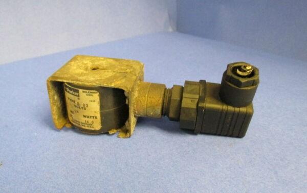 PARKER SOLENOID COIL TYPE G-23 12V