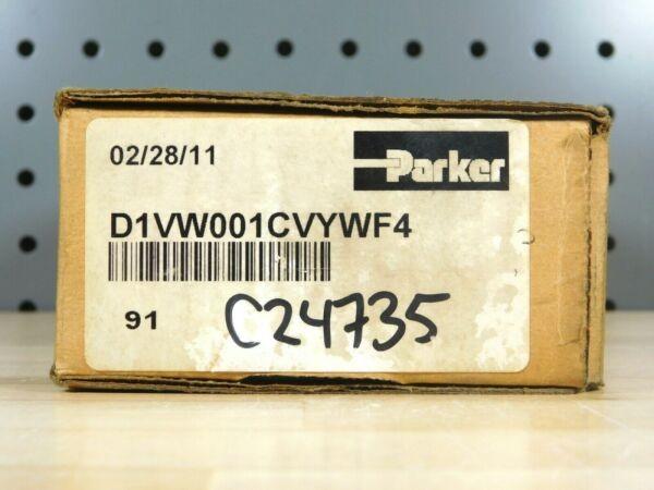 BRAND NEW - Parker FluidPower D1VW001CVYWF4 Solenoid Valve