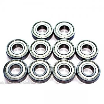 10 pack 6004 zz  20x42x12w Deep Groove HIGH PERFORMANCE CARTRIDGE BEARINGS