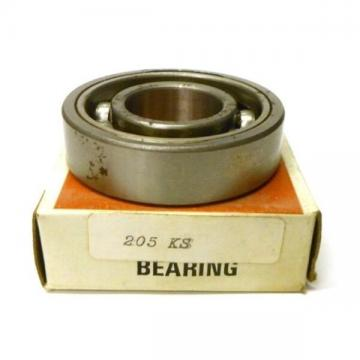 "FAFNIR BEARING 205KS, 205KB, 205K, 205S, APPROX 2 1/4"" OD, 1"" ID, 5/8"" THICK"