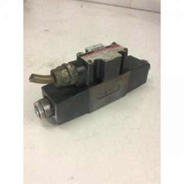 Daikin Solenoid Operated Valve, JSW-G02-2NA-11, 100V, Used, WARRANTY