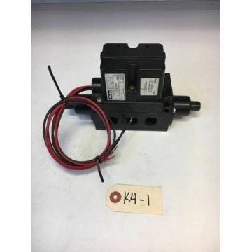 Parker Pneumatic Valve SS60105022 24 VDC 8.7 Watt *Fast Shipping* Warranty!