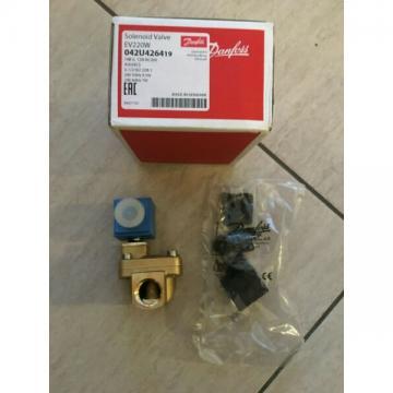 Solenoid valve danfoss ev220w 14b G 12n nc000