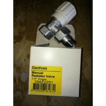 "Manual radiator valve danfoss 1/2"" angle 194z2251"