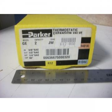 Parker 040568-03 Thermostatic Expansion Valve, GE2JW00A