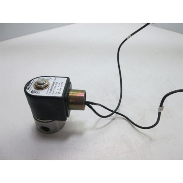 """Parker 71215SN2GN00N0C111P3 Solenoid Valve, Two-way, N/C, 1/4"""" NPT Ports, 316 SS #1 image"""