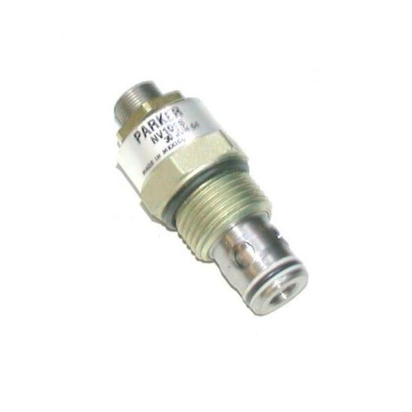 NEW PARKER   NV101S   DIRECT ACTING THREADED PRESSURE RELIEF VALVE #1 image